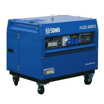 Генератор SDMO ALIZE 6000 E в Бодайбое