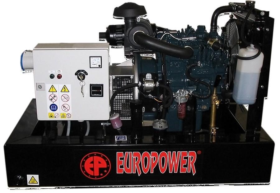 Генератор дизельный Europower EP 30 DE в Бодайбое