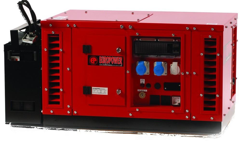 Генератор бензиновый Europower EPS 15000 TE в Бодайбое
