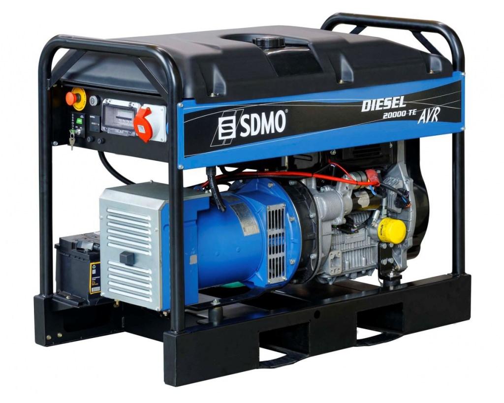 Генератор SDMO DIESEL 20000 TE XL AVR C в Бодайбое