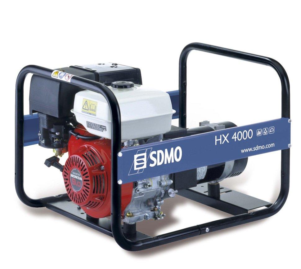 Генератор SDMO HX 4000-S в Бодайбое