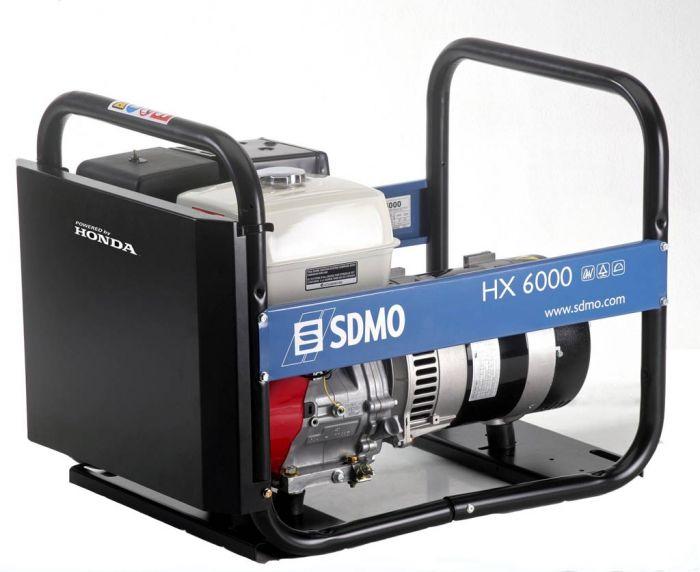 Генератор SDMO HX 6000-S в Бодайбое
